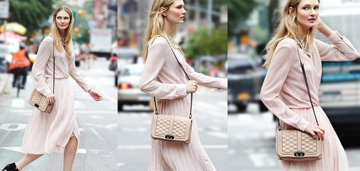 Rebecca Minkoff Hayes Dress And The Quilted Love Crossbody