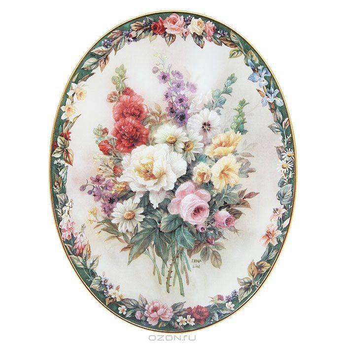 Овал-цветы