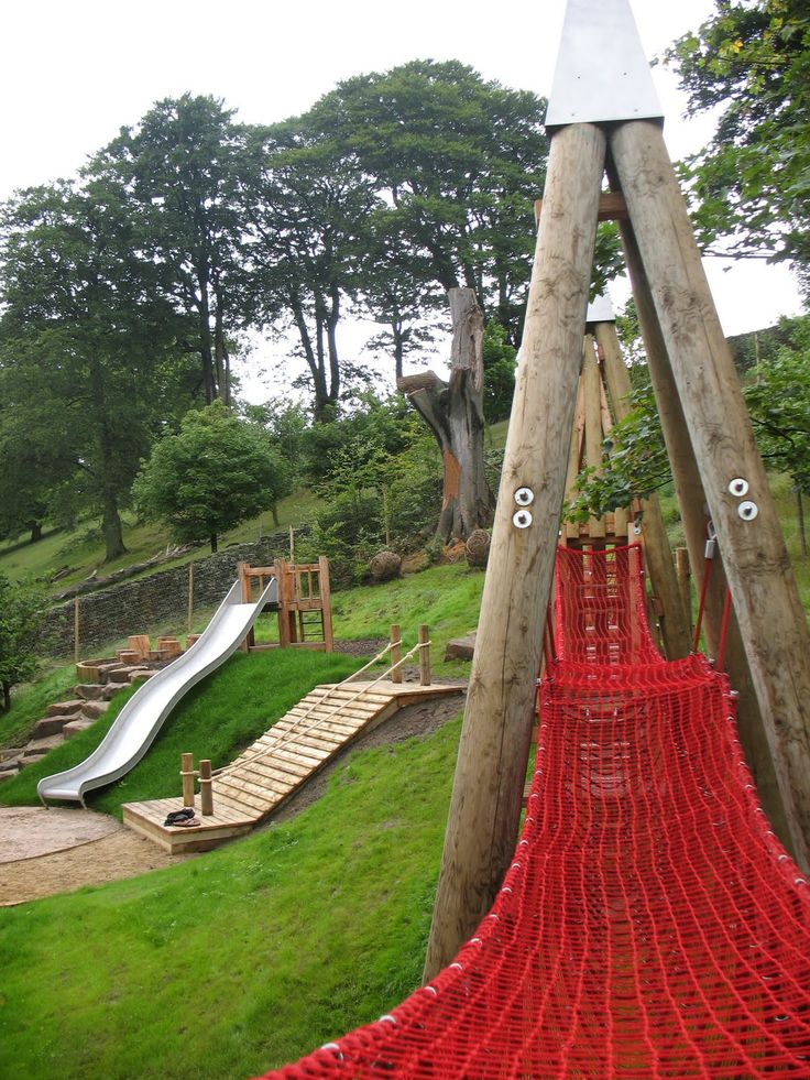 Crow Wood Playscape Children S Playground Legeplads