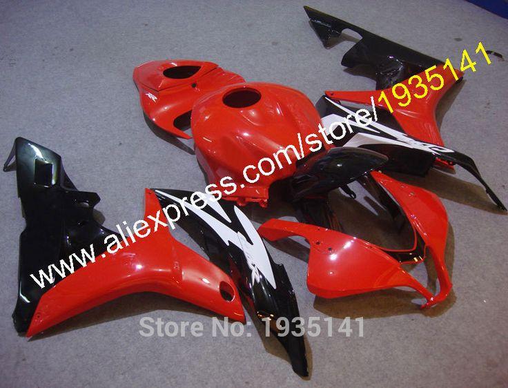 Hot Sales,For Honda CBR600RR F5 2007 2008 CBR 600 RR 07 08 Red Black White Body work Motorcycle Fairing Kit (Injection molding) #Affiliate