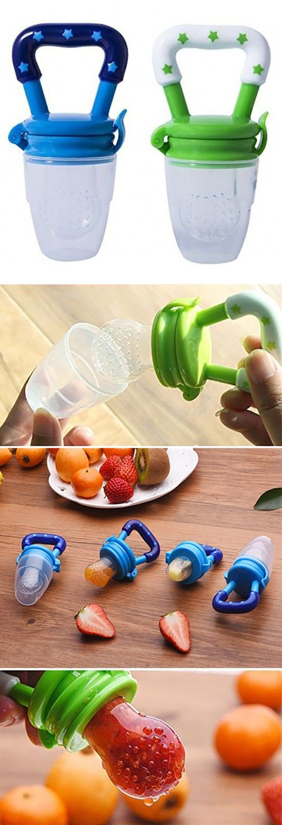 Fresh Food Pacifier For Teething Babies