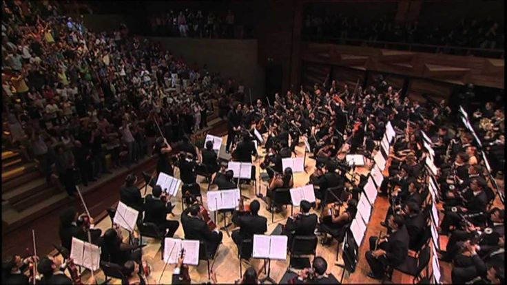 How fun would it be to play this piece this orchestra under Gustavo Dudamel? #orchestra #mambo #gustavodudamel