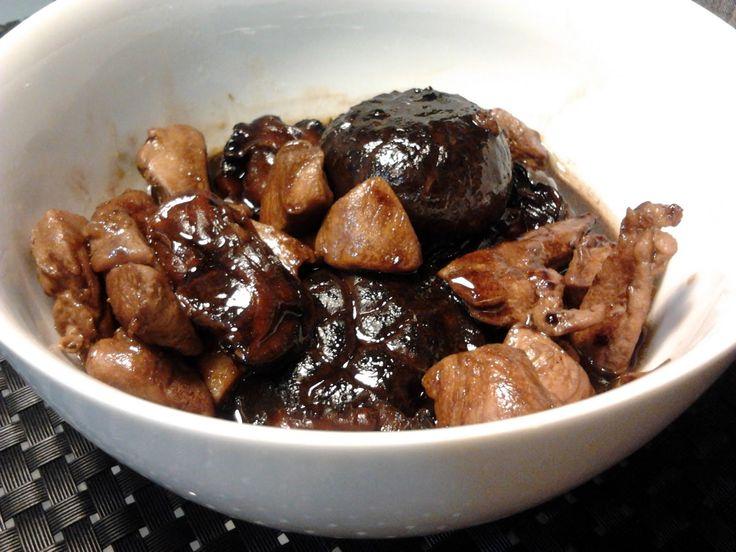 Simple Chicken Braised with Mushroom Recipe,15 minutes prep time.