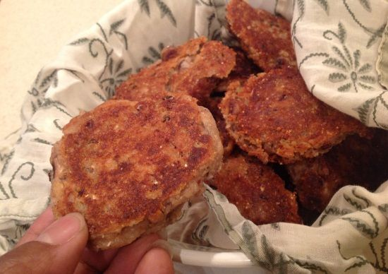 black-eye pea fritters