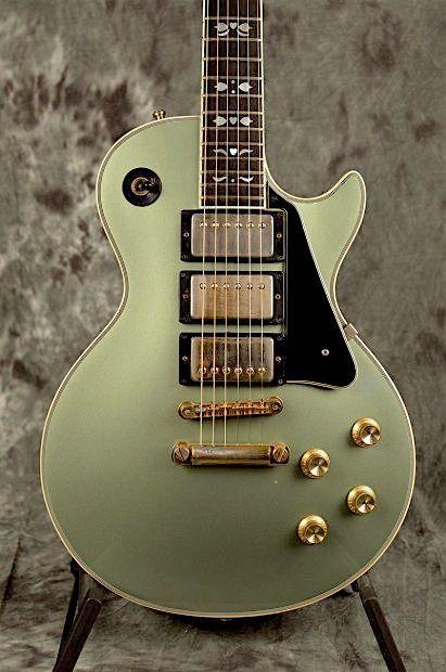 bushdog: Gibson Les Paul Artisan 1979 Inverness Green