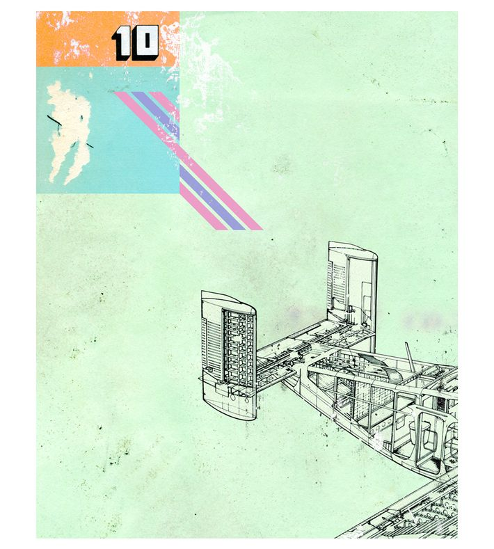 'Tail Wing' by Kareem Rizk (2008), Digital collage. You can buy this piece at www.artrebels.com #artrebels #art
