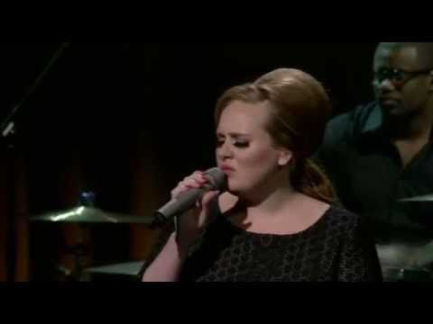 Adele - Love Song - Whenever I'm alone with you; you make me feel like I am whole again...