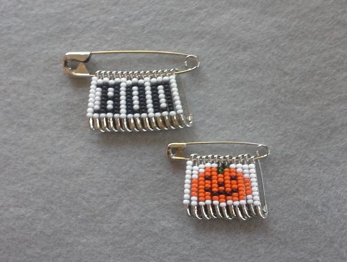 Girl Scout Swaps | Beaded Halloween