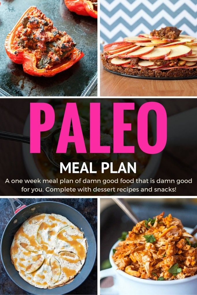 Paleo Meal Plan – 1 Week Of Yummy and Healthy Meals