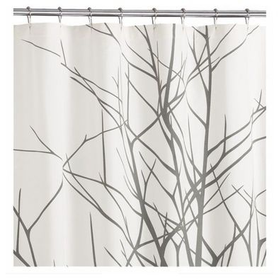 White And Gray 96 Inch Shower Curtain   Google Search  Contemporary Shower Curtains