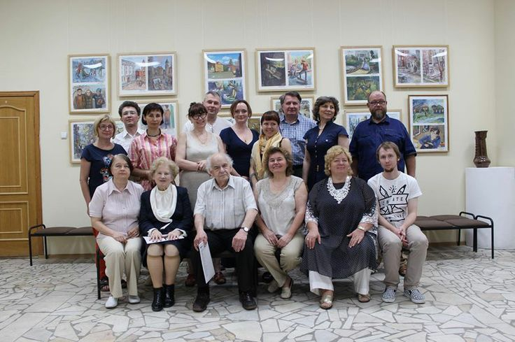 Daniil Belov: at the conference of founding International Union of artists-pedagogues