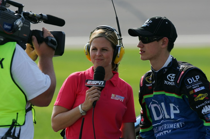 WIN Series presents The Women of ESPN - Shannon Spake ~ by Lindi Bess. (Photo credit: Todd Warshaw/Getty Images for NASCAR)