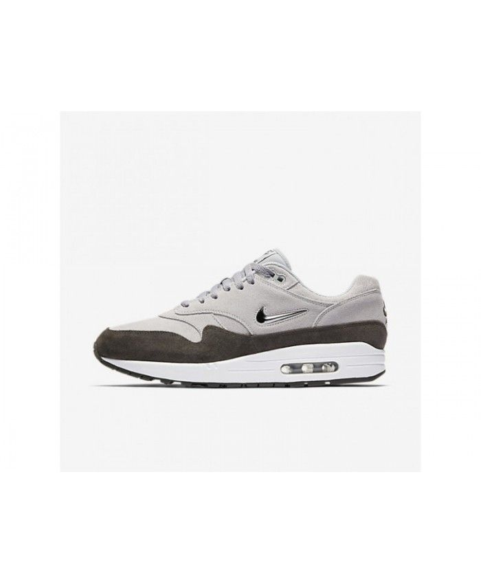 new arrival cb3f0 74855 On Nike Air Max 1 Premium SC Men s Wolf Grey Deep Pewter White Metallic  Pewter Shoes, 918354-004