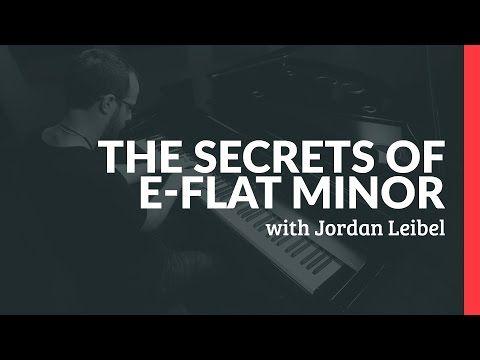 The Secrets Of E-Flat Minor - Piano Lessons (Pianote) - YouTube