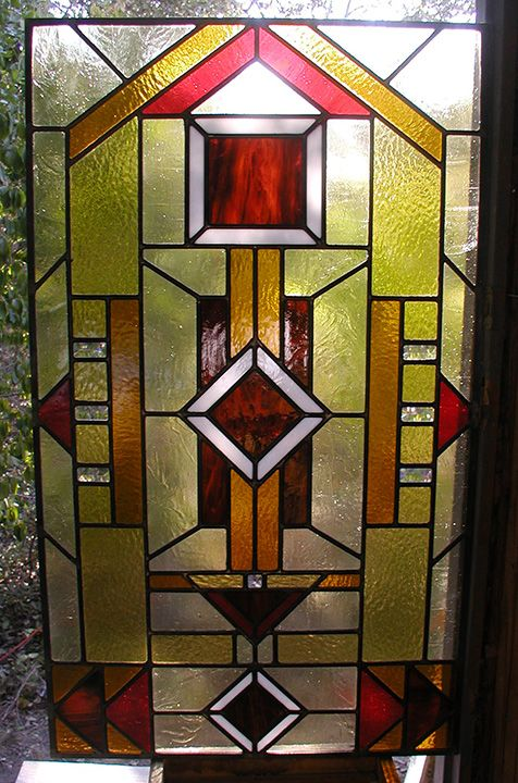 Prairie style stained and leaded glass entryway stained for Front door quilt pattern