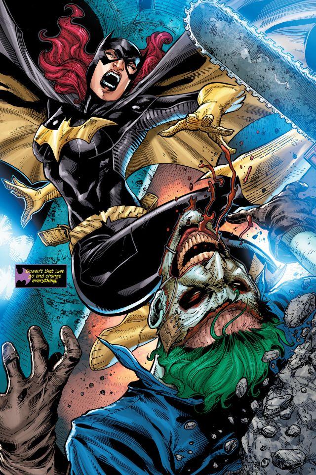 Batgirl VS The Joker