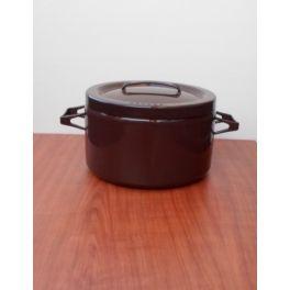 Arabia Finel Seppo Mallat bruine pan
