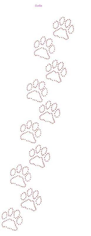 Pootjes | Katten/Poezen | glittermotifs