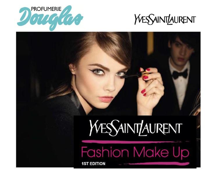 Le Profumerie Douglas in collaborazione con Yves Saint Laurent e con Grazia.it presentano il concorso Fashion Make Up 1° Edition ~ Diemme makeup