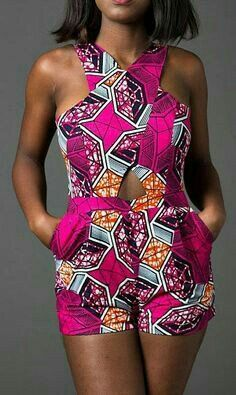 Shorts are always easy to wear and an eye candy. Ankara shorts gives shorts a whole new meaning,they are super cool and absolutely adorable! If you are not bold enough to wear it out,you can wear i…