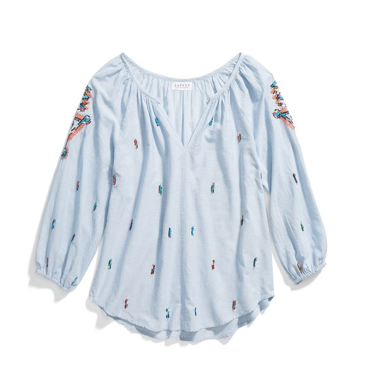 Stitch Fix Spring Styles: Embroidered Top