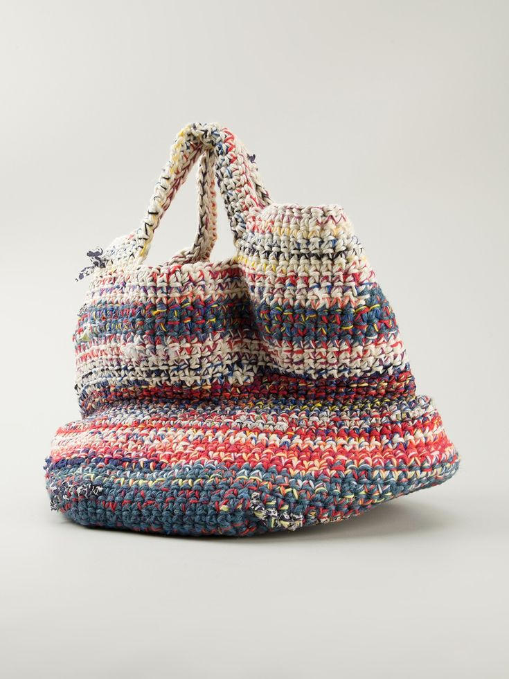 Daniela gregis Woven Tote in Multicolor (multicolour) | Lyst