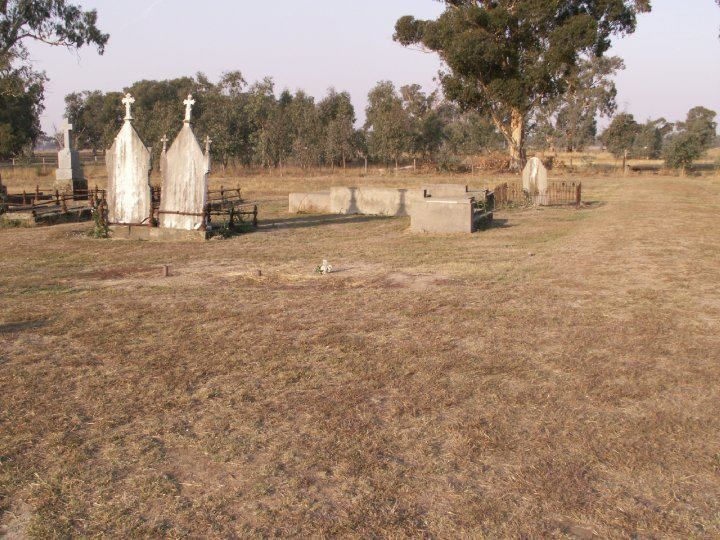 Old Greta cemetery where Ned is now buried.