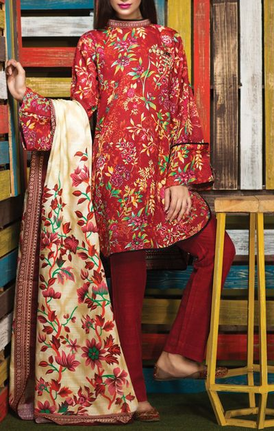 Pakistani∞Women's Winter Clothes Pakistani Clothing Dresses SAlWAR KAMEEZ Online in Charlotte (Shopping - Clothing & Accessories)