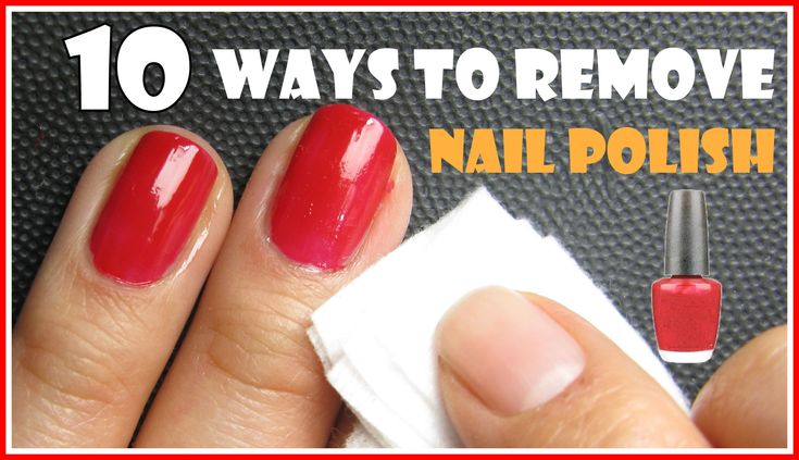 10 WAYS TO REMOVE NAIL POLISH WITH AND WITHOUT REMOVERS | MELINEY HOW TO...