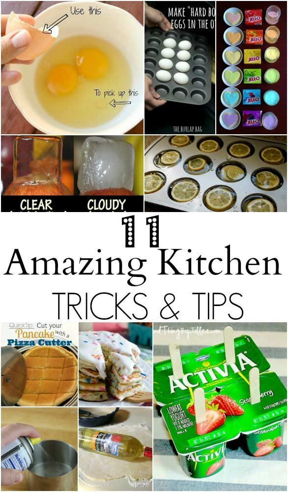 kitchen tips and tips - such great ideas I never knew about. Great ideas for the kitchen! Cooking and cleaning tips.