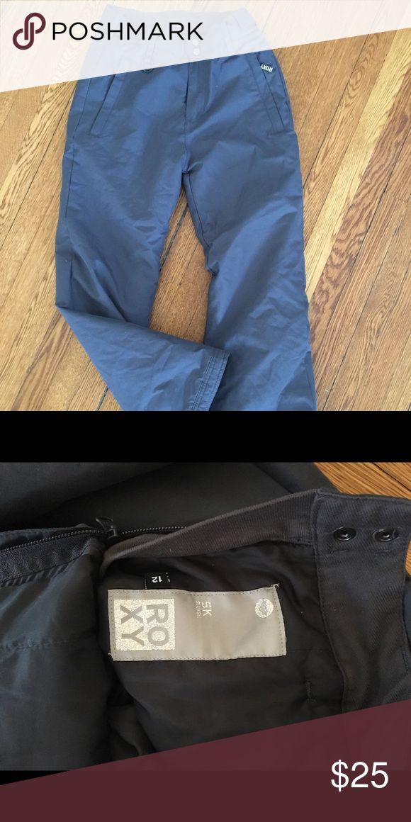 Roxy girls ski pants in gray age 12 Gray Roxy girls ski pants age 12 Roxy Bottoms Sweatpants & Joggers