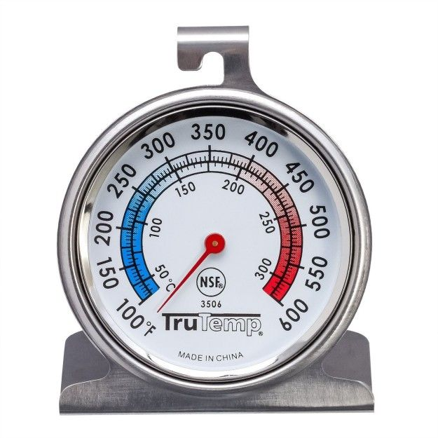 First things first: Invest in an oven thermometer. | 19 Life-Changing Baking Tips From Professional Bakers