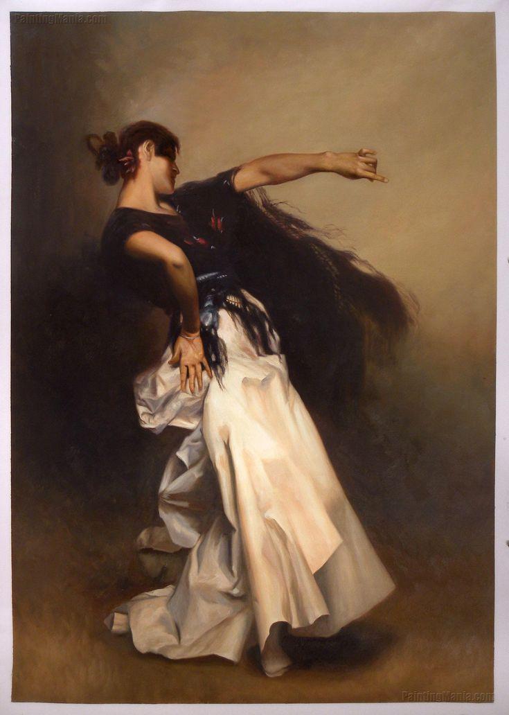 Spanish Dancer by John Singer Sargent