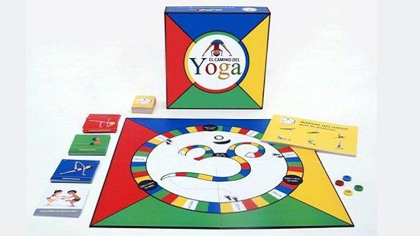 El Camino del Yoga, un juego para niños para mejorar la postura y divertirse de activamente. (Disponible en Giro Didáctico)