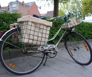 DIY Bike pannier (front & rear)