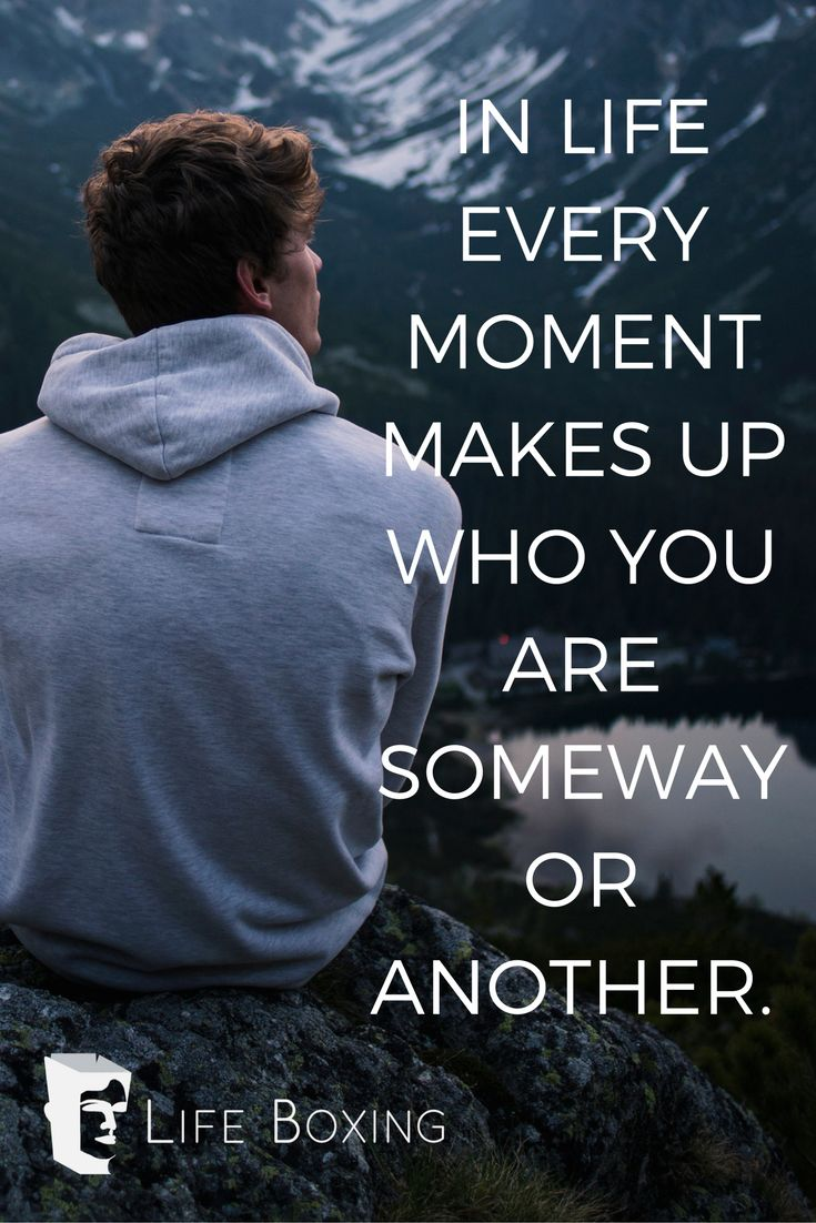 Get something from every moment