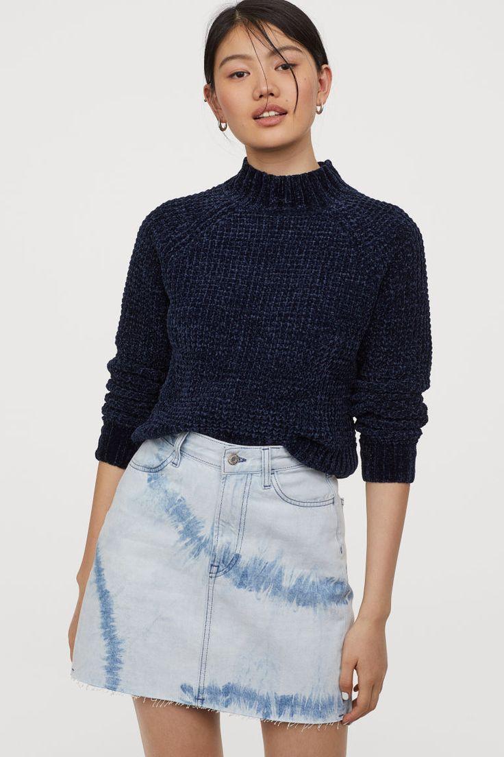 Crop Long Sleeve Sweater | Long sleeve sweater, Sweaters