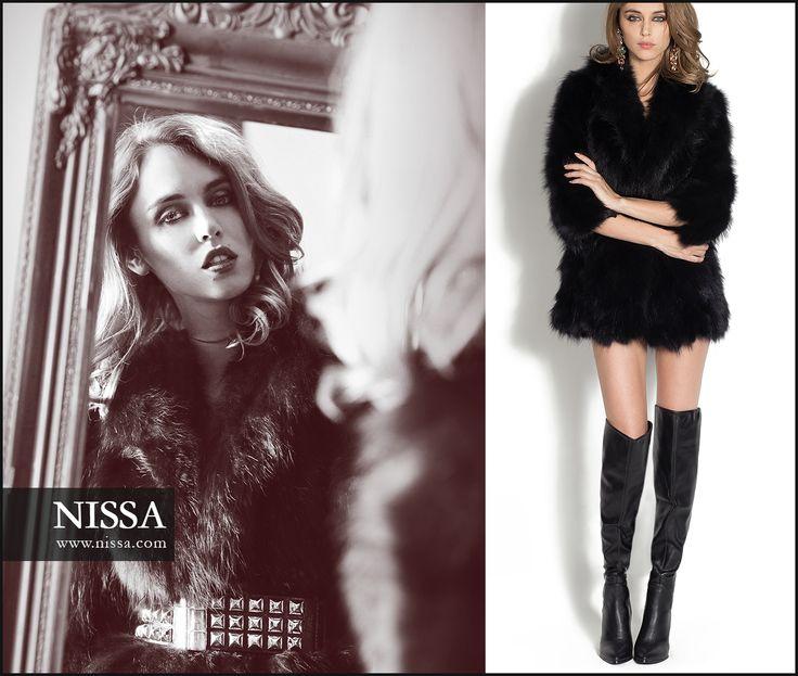 NISSA  Fur Vest: http://goo.gl/AWZPN3  #nissa #outfit #steal #night #dare #look #beautiful #cool #fur #vest #blana #vesta #natural #fashion #fashionista