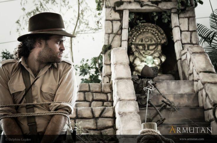 ©#armutan ©#delphineleguen #explorateurs #aventure #temple #squelette #archeologie #jungle #spectacle