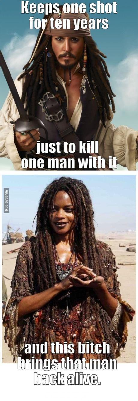Poor Captain Jack Sparrow (Sorry for the cuss words)