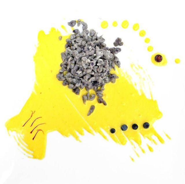 Blueberry Spätzle al Gran Mugello con zafferano