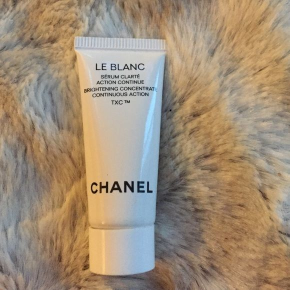 Chanel Le Blanc serum Chanel Le Blanc brightening concentrate continuous action TXC. Brand new never used or opened. CHANEL Makeup