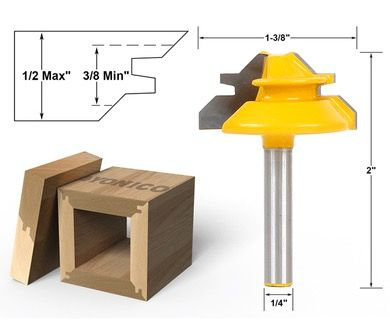 Find More Milling Cutter Information about  SHK:6.35mm  Woodworking Milling Cutter Tools Puzzle Wood Cutter Combination 45 Degree Tenon Cutter Knife  1/4X1 3/8inch ,High Quality knife pendant,China cutter grinder Suppliers, Cheap cutter sealer from Alibaba Biggest Industrial Parts Store(sewing,cutter,motor..) on Aliexpress.com
