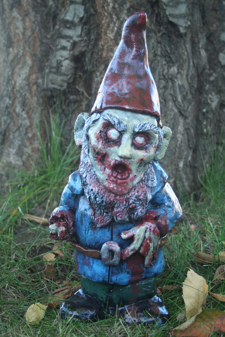 Gnome In Garden: 23 Best Images About How To Survive A Zombie (gnome