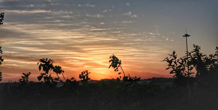 Sunset over Toti