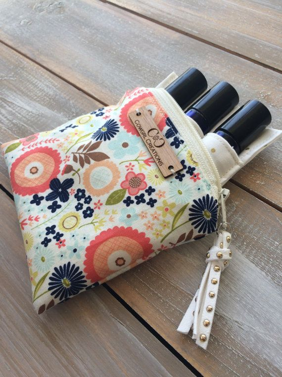 Petite Essential Oil Bag essential oil case by Cowgrlcreations