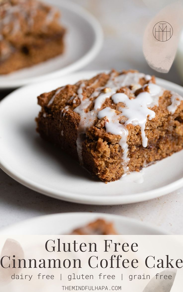 Jun 5, 2020 – Filled with a cinnamon streusel pecan filling, and topped with a super easy vanilla bean glaze, this glute…
