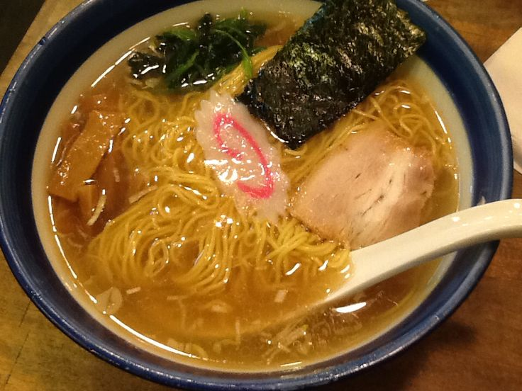 Solt ramen in Nakano Tokyo. This is crasical style.