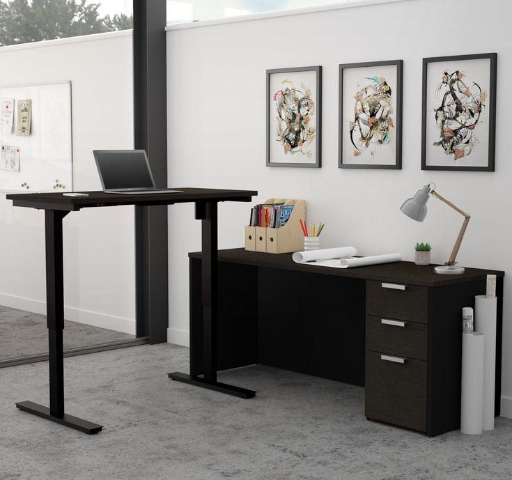 Eckschreibtisch modern  Die besten 25+ Modern l shaped desk Ideen auf Pinterest | L ...