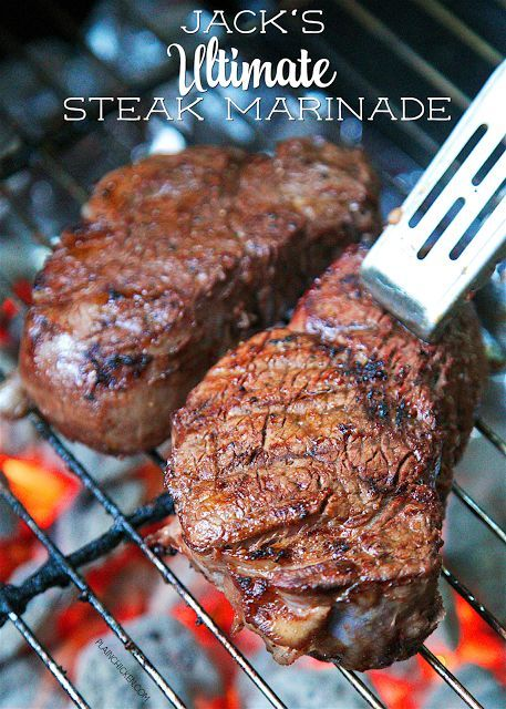 We grill out steaks a lot. I actually prefer our home cooked steaks to fancy steakhouses. Chicken Legs seasons and cooks them the way I like it! This recipe comes from Jack Nicklaus' new cookbook. I s